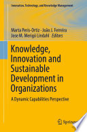 Knowledge  Innovation and Sustainable Development in Organizations