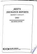 Best's Insurance Reports, Property-casualty