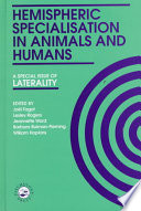 Hemispheric Specialisation in Animals and Humans