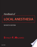 """Handbook of Local Anesthesia E-Book"" by Stanley F. Malamed"