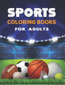 Sports Coloring Books For Adults