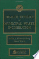 Health Effects of Municipal Waste Incineration Book