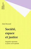 Société, espace et justice Pdf/ePub eBook