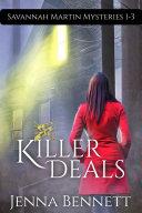 Savannah Martin Mysteries 1-3