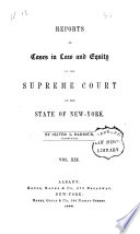 Reports Of Cases In Law And Equity In The Supreme Court Of The State Of New York Book PDF