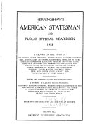 Herringshaw s American Statesman and Public Official Year book