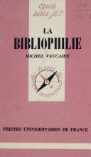 Pdf La Bibliophilie Telecharger