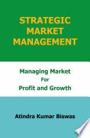 Strategic Market Management Book