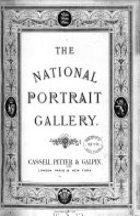 The national portrait gallery  plates  with descriptive letterpress