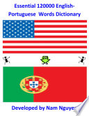 Essential 120000 English Portuguese Words Dictionary Book