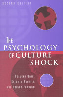 The Psychology of Culture Shock Book