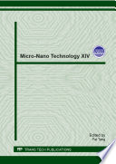 Micro Nano Technology Xiv Book PDF
