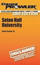 College Prowler Seton Hall University