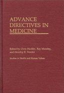 Advance Directives in Medicine