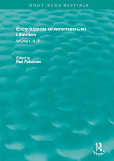 Routledge Revivals: Encyclopedia of American Civil Liberties (2006) Pdf/ePub eBook