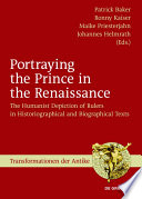 Portraying The Prince In The Renaissance Book PDF