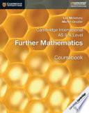Cambridge International AS & A Level Further Mathematics Coursebook