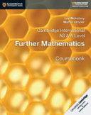 Books - New Cambridge International As & A-Level Further Mathematics Coursebook | ISBN 9781108403375