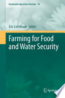 Farming for Food and Water Security Book