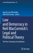 Law and Democracy in Neil MacCormick's Legal and Political Theory Pdf