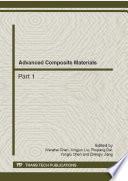 Advanced Composite Materials Book