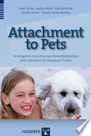 Attachment To Pets Book