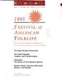 Festival of American Folklife Book