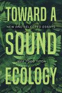 Toward a Sound Ecology