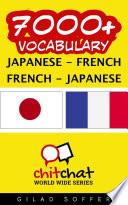 7000+ Japanese - French French - Japanese Vocabulary