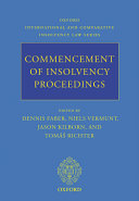 Commencement of Insolvency Proceedings Pdf/ePub eBook