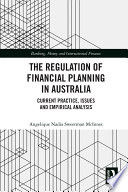 The Regulation Of Financial Planning In Australia Book