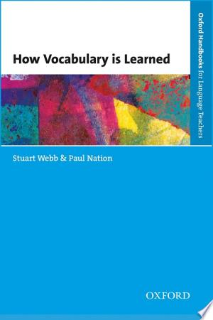 Download How Vocabulary is Learned Free Books - Dlebooks.net