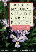 80 Great Natural Shade Garden Plants