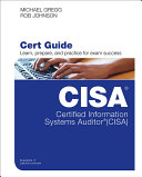 Pdf Certified Information Systems Auditor (CISA) Cert Guide Telecharger