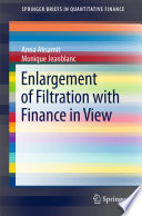 Enlargement of Filtration with Finance in View Book