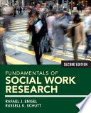 Fundamentals of Social Work Research Book