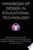 Handbook of Design in Educational Technology