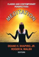 Meditation Pdf/ePub eBook