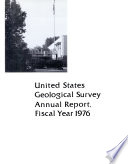 United States Geological Survey Annual Report