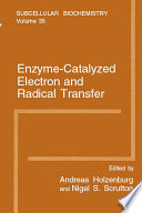 Enzyme Catalyzed Electron And Radical Transfer Book PDF