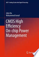 CMOS High Efficiency On chip Power Management Book
