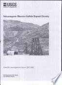 Volcanogenic Massive Sulfide Deposit Density