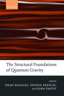 The Structural Foundations Of Quantum Gravity Book PDF