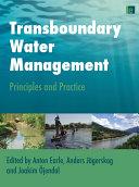 Pdf Transboundary Water Management