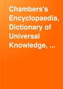 Chambers s Encyclopaedia  Dictionary of Universal Knowledge  Volume VI  Humber to Malta