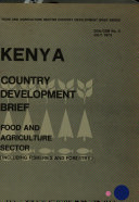 Kenya Country Development Brief