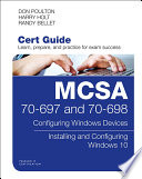 Mcsa 70 697 And 70 698 Cert Guide