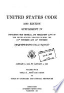 United States Code  Title 21  Food and drugs to Title 28  Judiciary and judicial procedure