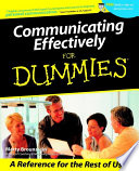 Communicating Effectively For Dummies Book