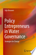 Policy Entrepreneurs in Water Governance Book